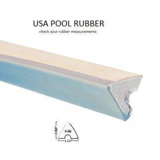 rubber usa pool k66