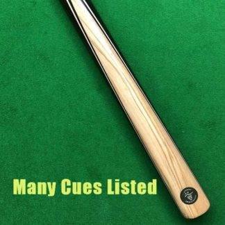Pro Cue Single Face Splice Olive Wood