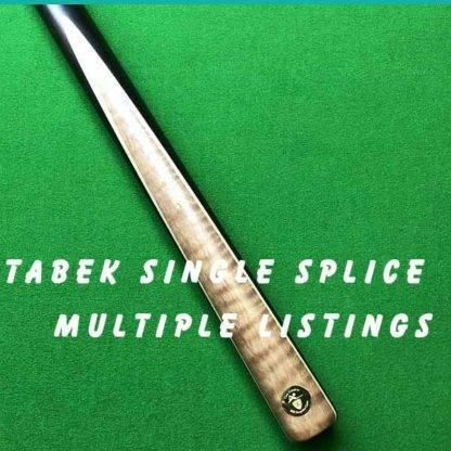 Cue Creator Single Face Splice Tabak Plus Two Veneers