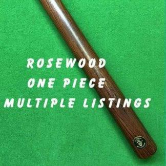 One Piece Rosewood Billiard Cue