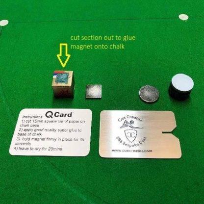Magnetic Chalk Card Holder